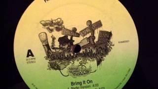 Kamaflaj - Bring It On (rare indie philly rap) (1996)