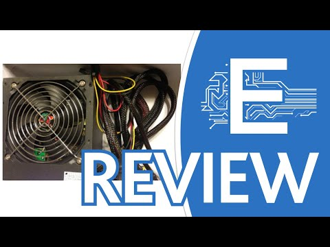 Logisys Corp. 550W 120mm Ball Bearing Fan with PSU Overview
