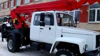 Автогидроподъемник KTР-183.20 на ГАЗ-33086