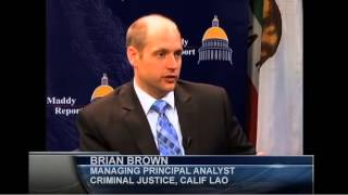 Maddy Report - Crime in California: Just the Facts