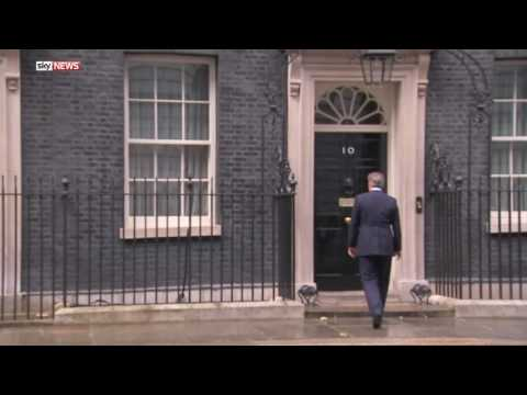 David Cameron Hums A Tune After Resigning
