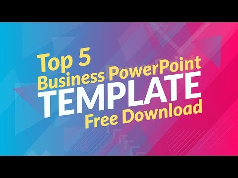 Template design for ppt free download