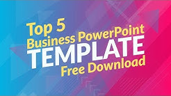 Top 5 Business PowerPoint Templates of 2019 Free Download