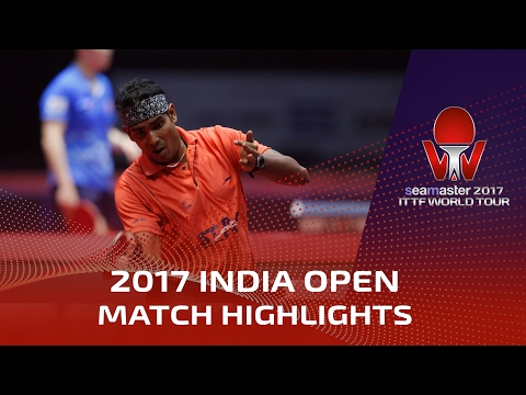 2017 India Open Highlights: Achanta Sharath Kamal vs Can Akkuzu (R32)