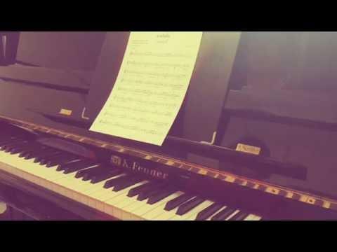 โน้ตเพลงสายโลหิต piano cover