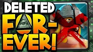 Is Supercell Deleting the Best Card in Clash Royale? (conspiracy)