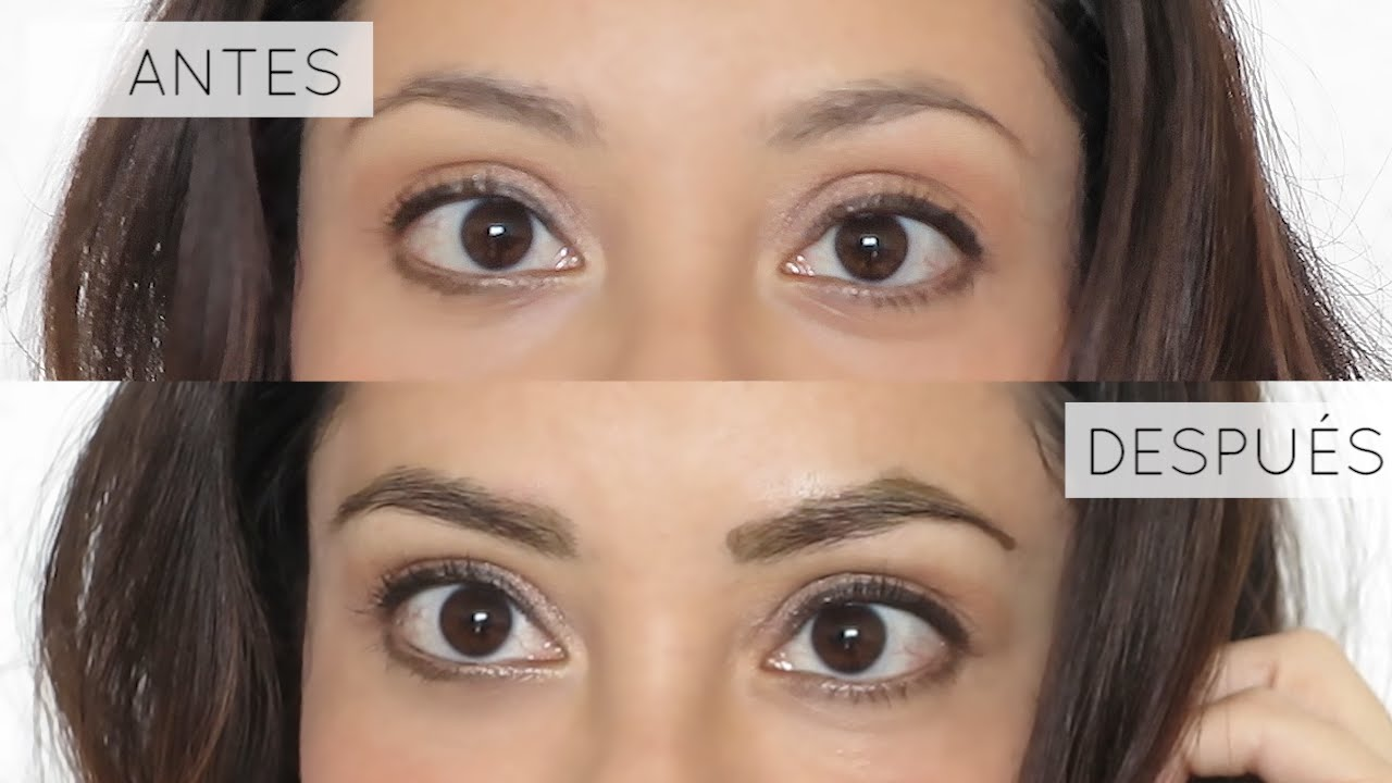 C mo te irse las cejas en casa tutorial youtube for What not to do before closing on a house