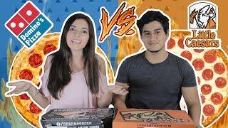 DOMINO'S PIZZA VS LITTLE CAESARS EN PERÚ (¿QUIÉN GANA?) | DesbalanceAdos