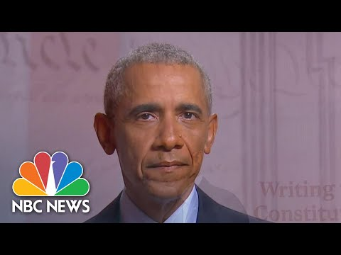 Watch Barack Obama's Full Speech At The 2020 DNC | NBC News