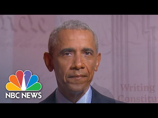 Watch Barack Obama's Full Speech At The 2020 DNC | NBC News