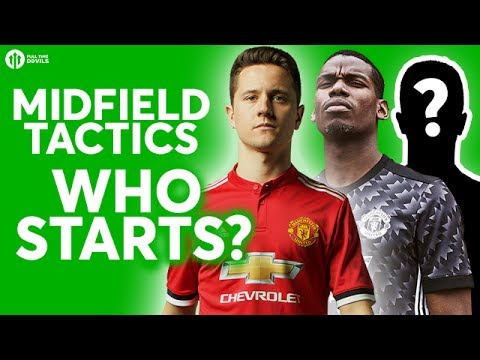 MIDFIELD PLAYERS & TACTICS? The HUGE Debate LIVE! Manchester United