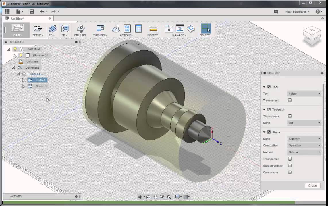 Development Update: Fusion 360 Turning