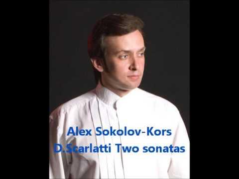 Алексей Соколов-Корс  - Д.Скарлатти Две сонаты