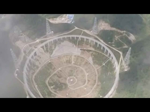 Chinese telescope aids in hunt for alien life