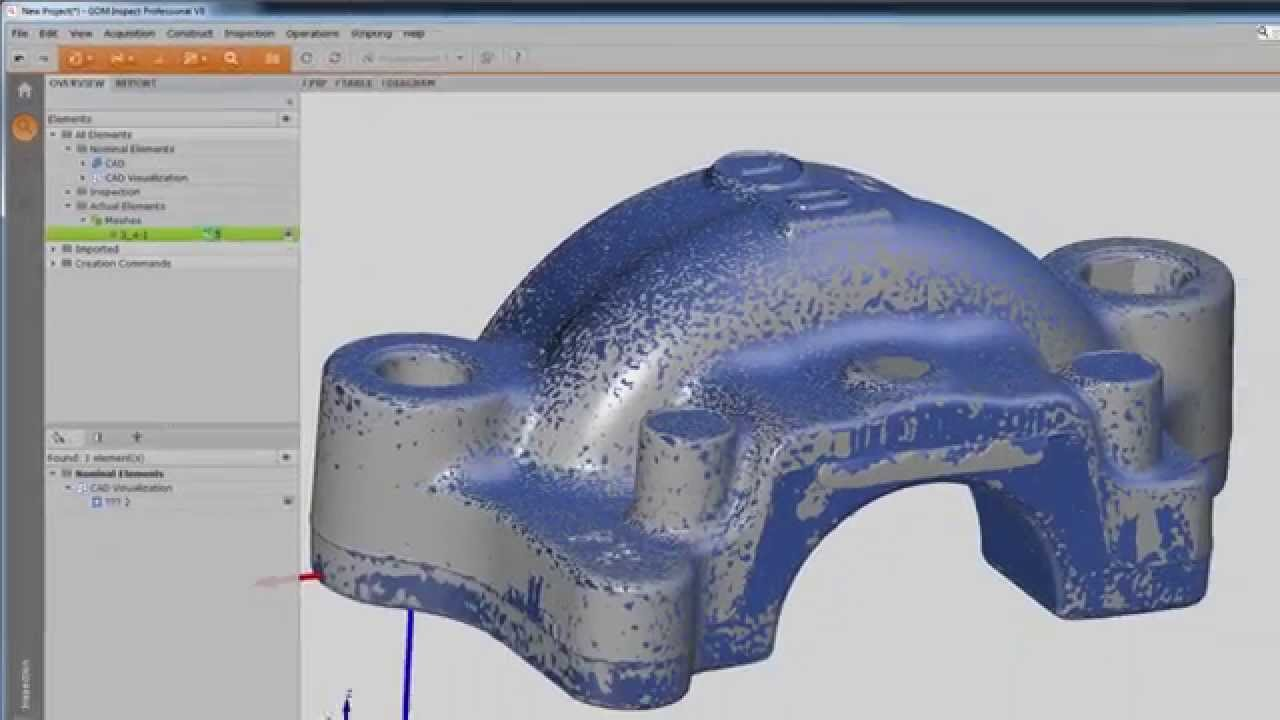 V8 - Golden Mesh/Average Mesh (ATOS Blue Light 3D Scanner Data and Software)