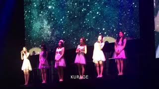 """190202 Apink JAPAN LIVE PINK COLLECTION """" apink (에이핑크) - 별 그리고.. ( Forever Star )"""