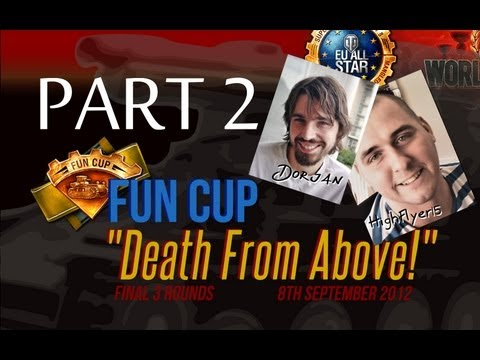 Fun Cup Cast - Quarter Finals - Chinese vs MonsterGamer