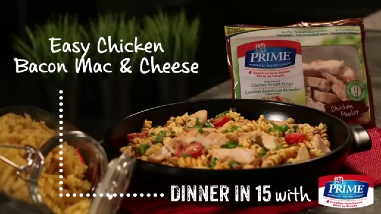 Easy Chicken And Bacon Mac Cheese
