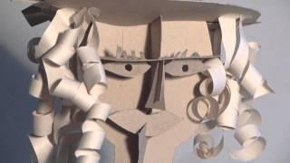 Papierové hlavy - ZUŠ Pablo Trnava