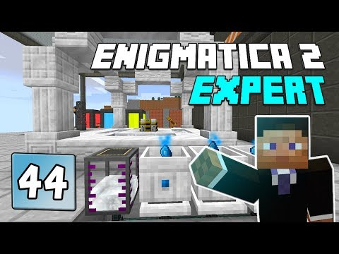 Enigmatica 2: Expert Mode - EP 45 Master Infusion Crystal & Fluxed