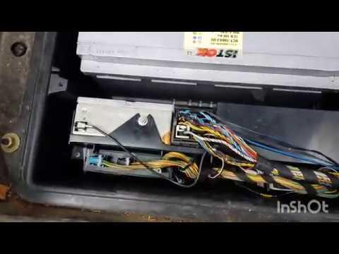 Подключения сабвуфера к штатной акустики BMW X5 E53
