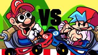 FRIDAY NIGHT FUNKIN vs SUPER MARIO KART