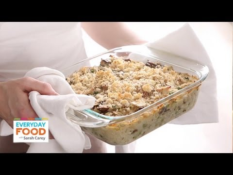 Easy baked chicken and rice casserole recipe