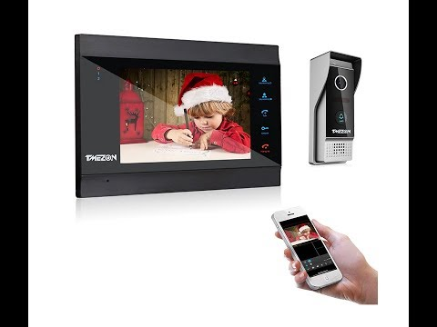 tmezon-wireless-video-door-phone-intercom-installation-mz-ip-v739b,-ucarehome-connection-for-iphone