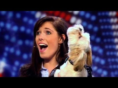 Pip and Puppy - Britains Got Talent 2011 Audition - itv.comtalent