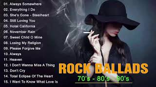 Download lagu Rock Ballads 70 s 80 s 90 s Best Rock Ballads of All Time Rock love song nonstop