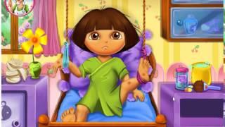 דורה מחלימה בבית החולים,משחק מחשב לילדים