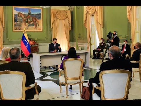 Presidente Maduro recibe Ley Antibloqueo aprobada por la Asamblea Constituyente, 9 octubre 2020