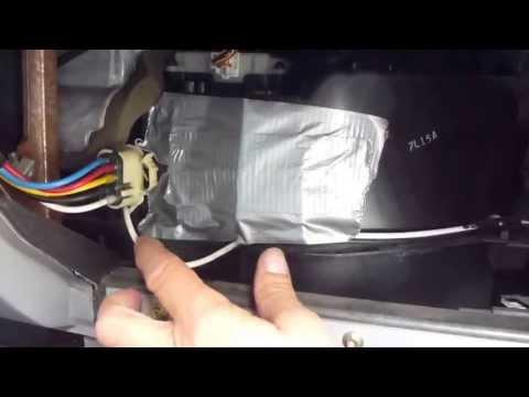 95-01 ford explorer and Ford Ranger Blend door quick fix!