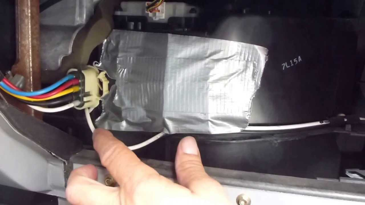 hight resolution of 95 01 ford explorer and ford ranger blend door quick fix youtubeyoutubeare renger condictioner wiring
