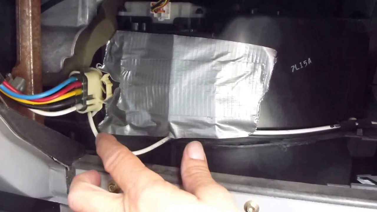 1997 Ford Explorer Fuse Diagram Air Conditioner 95 01 Ford Explorer And Ford Ranger Blend Door Quick Fix