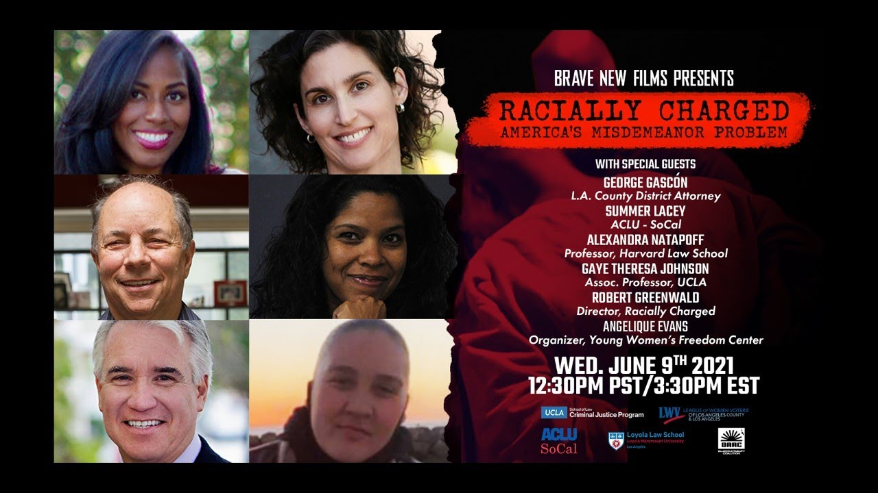 """Download """"Racially Charged"""" LA Screening & Discussion w/ George Gascon, Robert Greenwald, and more! - BNF"""