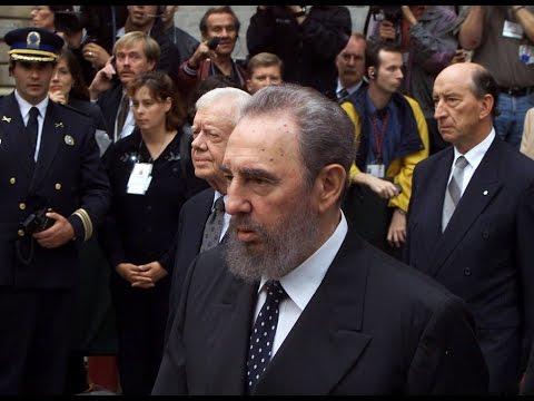 Fidel Castro à Montréal, le 3 octobre 2000