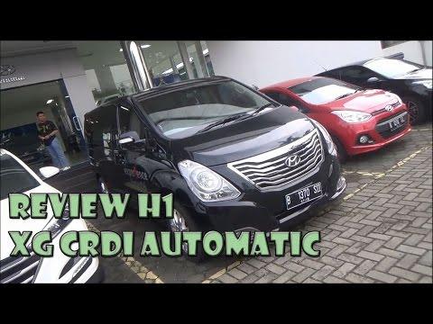 Review Hyundai H1 XG CRDi Tahun 2016