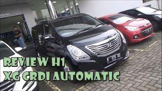 Review Hyundai H1 XG CRDi Tahun 2016 смотреть