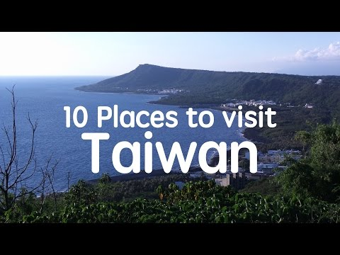10 Syok Places to visit in Taiwan!