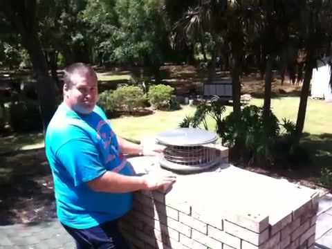 Tampa Fl Fireplace Chimney Cap Amp Dryer Vent Cleaning Amp Repair