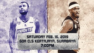 BTN CLS Knights Indonesia vs Mono Vampire | LIVE NOW | 2018-2019 ASEAN Basketball League