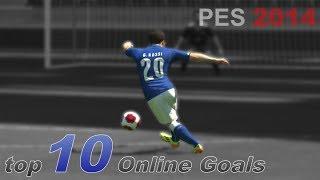 PES 2014 - Top 10 Online Goals [HD]