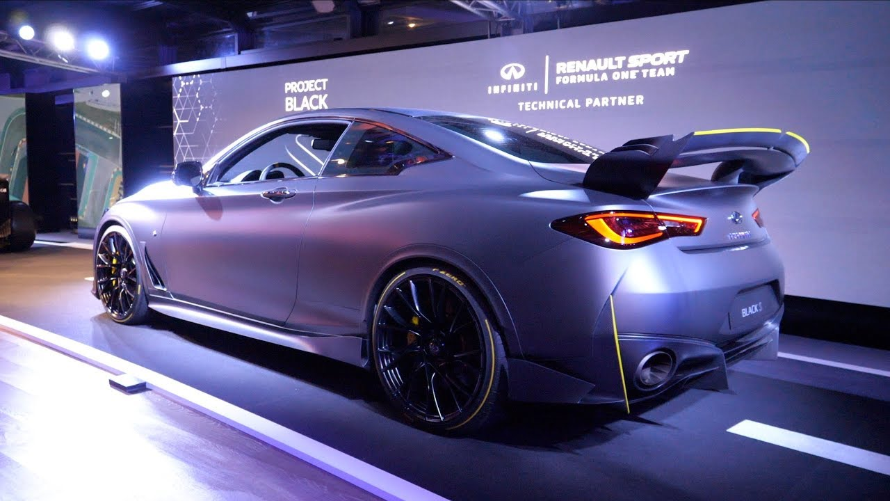This Is The New Infiniti Project Black S Seen Through Glass