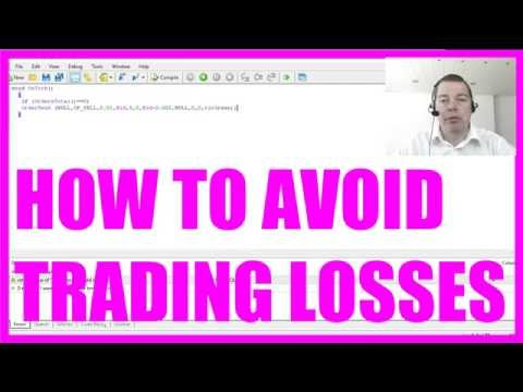 WHY MQL4? HOW TO CUT LOSSES EASILY!