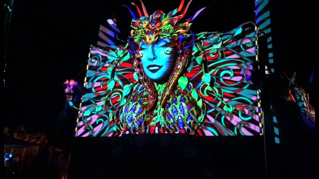 Boom Festival 2014 - crazy visuals