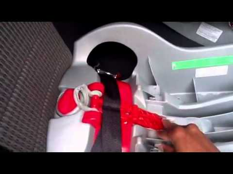 Remove car seat base - YouTube