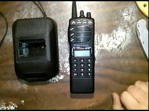Motorola GP-68 - Charger repair and radio reprogramming.