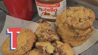 Nutella Stuffed Cookies | We Heart Food S2e7/8