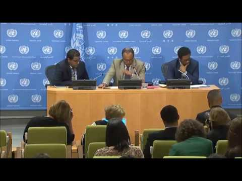 Tekeda Alemu (Ethiopia) on new Security Council Presidency - Press Conference (1 September 2017)